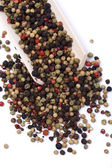 Mezclada con granos de pimienta — Foto de Stock