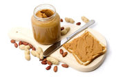 Peanut butter — Stockfoto