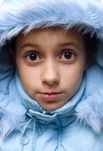 Enfant en hiver — Photo