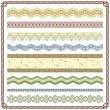 Pattern Border - Stock Vector