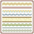Pattern Border - Vettoriali Stock 