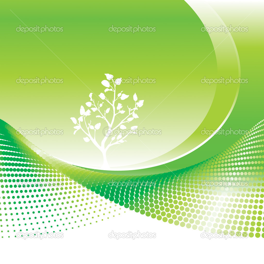 Environmental concept background, vector illustration layers file. — Stock Vector #1849845