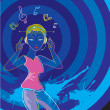 Neon Music Style -  