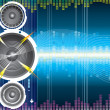 Vector de stock : Audio Speaker Wave