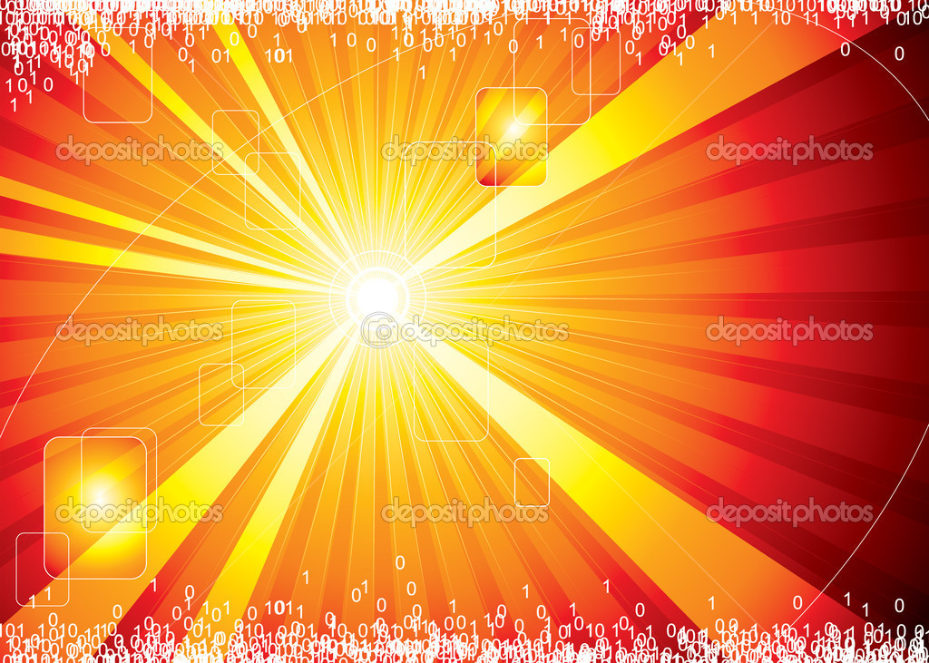 Internet hot background, vector illustration layers file.  Imagen vectorial #1975362