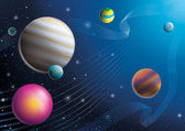 Cosmos Space — Stock Photo