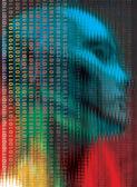 Tecnologia della mente — Foto Stock