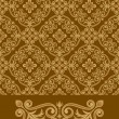 Antique Pattern Design — Stok Vektör