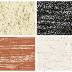 Set of Texture Grunge — Stock Vector