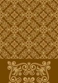 Antique Pattern Design — Stock Vector