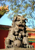 Lion in chinese style — Stock Photo