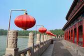 路堤的中国风格 — 图库照片