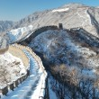 Stock Photo: Great wall under snow