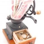 Magic coffee grinder — Stock Photo #1837439