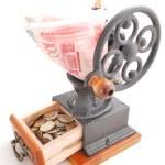 Magic coffee grinder — Stock Photo #1837453
