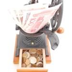 Magic coffee grinder — Stock Photo #1837488