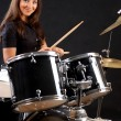 Royalty-Free Stock Photo: Drummer