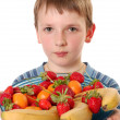 Royalty-Free Stock Photo: Fruit boy