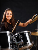 Drummer — Stock Photo