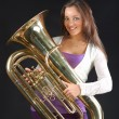 Tubist — Stock Photo #1840864