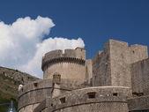 Башни и стены Дубровника — Stock Photo