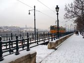 Budapest winter — Stock Photo