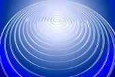 Circle light waves — Stock Photo