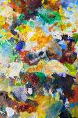 искусство цвета стола — Стоковое фото