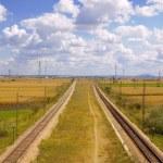 Railway track — Stock Photo #1770263