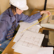 Female architect — Stock Photo #1786543