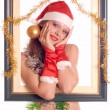 Sexy Santa Girl - Stock Photo