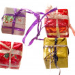 Christmas gift box — Stock Photo #1787125