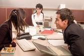 Equipe de negócios no escritório — Foto Stock