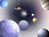 Universe - science backgrounds — 图库照片