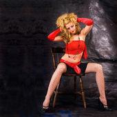 Erotic girl — Stock Photo
