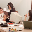 Business team at office — Stock Photo #1848017