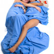 Sleeping couple — Stock Photo