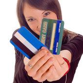 Karta kredytowa — Zdjęcie stockowe
