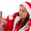 Mrs Santa Claus — Stock Photo