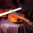 Royalty-Free Stock Photo: Violin and note