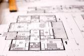 Arkitekturen projekt — Stockfoto