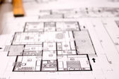 Projekt architektura — Stock fotografie