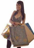 Zakupy girl — Zdjęcie stockowe