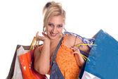Summer shopping — Stock Photo