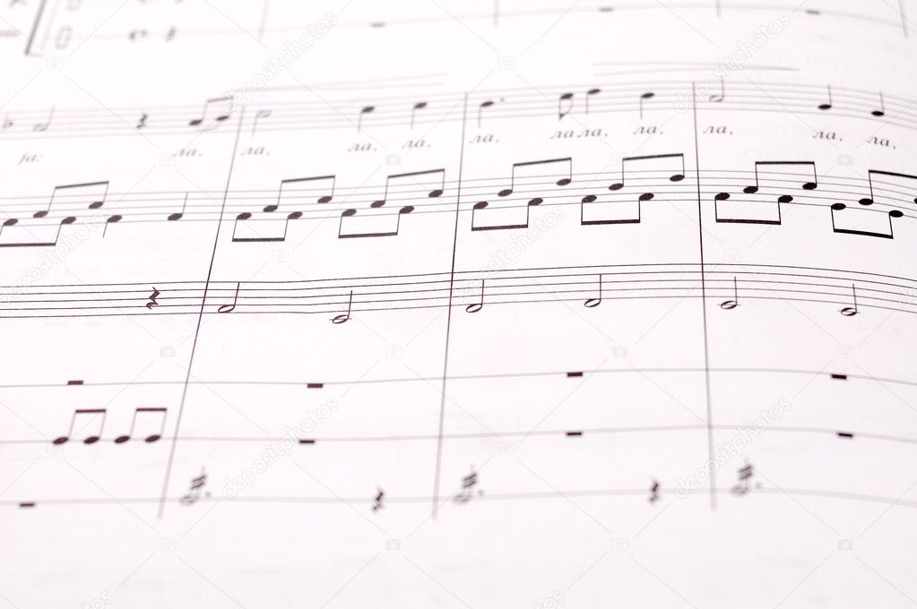 writing music notes This easy-to-use guide will show you how to write a and rock choruses work well in a higher note or band playing the kind of music you're.