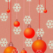 Royalty-Free Stock Photo: Christmas red balls