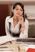 Business women at office — Stock Photo