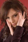 Mulher retrato — Fotografia Stock