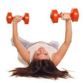 фитнес девушка — Стоковое фото