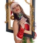 Santa Girl — Stock Photo #2192418
